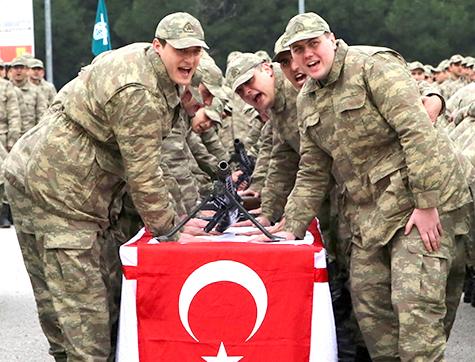 1999/3 Tertip Askerler Silah Altına Alınıyor