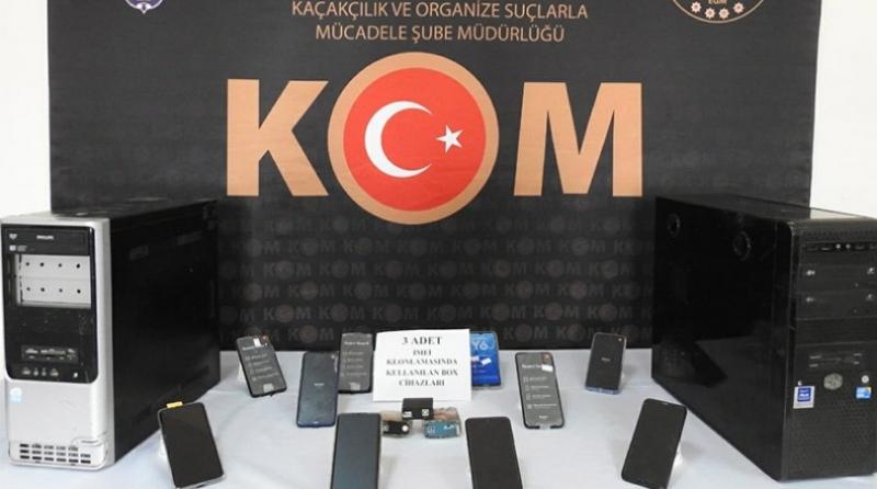 86 Adet Kaçak Cep Telefonu Ele Geçirildi