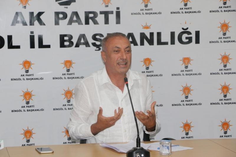 Ak Parti İl Başkanı Güler, İstifa Etti