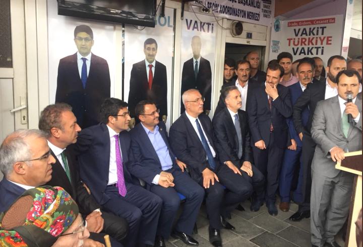 Ak Parti Solhan SKM Açılışı Yapıldı