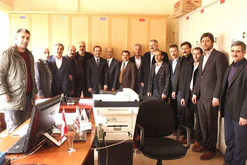 AK Parti'den Resmi Kurumlara Ziyaret