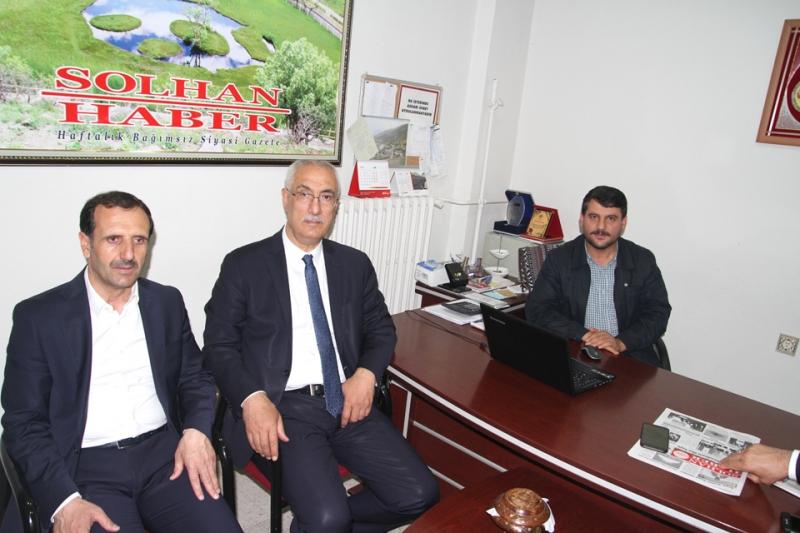 Ak Parti'den Solhan Haber'e Ziyaret
