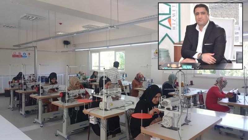 Alan Tekstil Fabrikası İşbaşı Yaptı