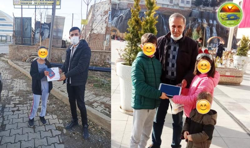Ankara Binyar Derneği, Öğrencilere Tablet Dağıttı