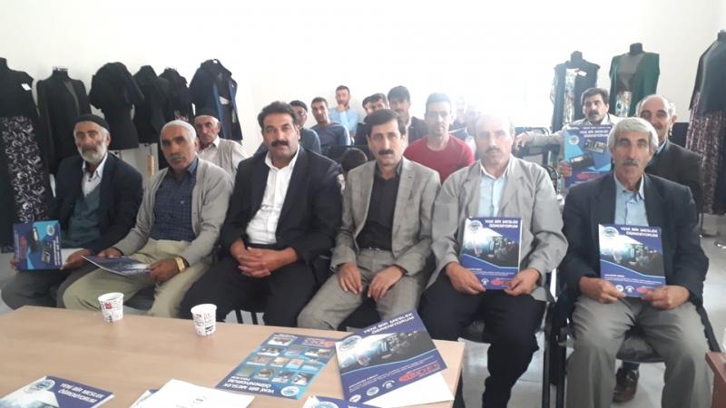 Arakonak'ta Başarılı Kursiyerler Sertifika Aldı