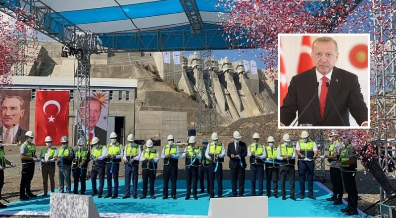 Aşağı ve Yukarı Kaleköy Barajları Törenle Açıldı