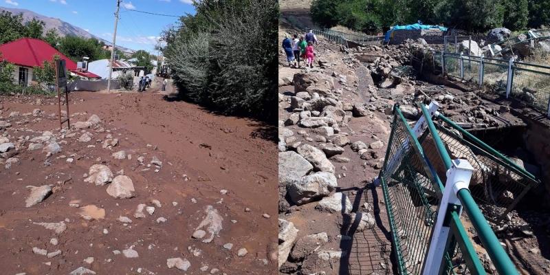 Asmakaya Köyünde Sel Felaketi