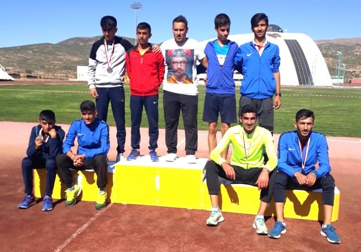 Atletizmde Solhanlı Gençler Derece Yaptı