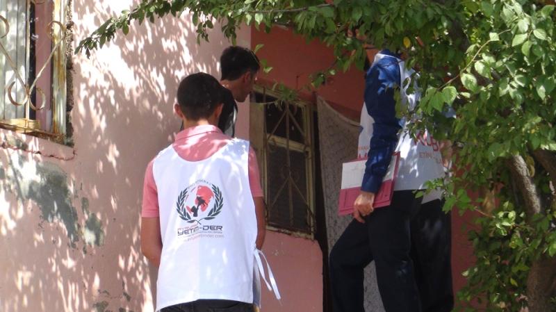Avrupa Yetim – Der, Solhan'da Kurban Eti Dağıttı