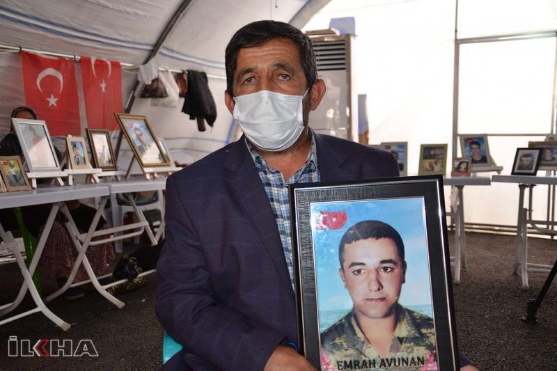 """Avunan, """"PKK, Oğlumu Askerdeyken Kaçırdı"""""""