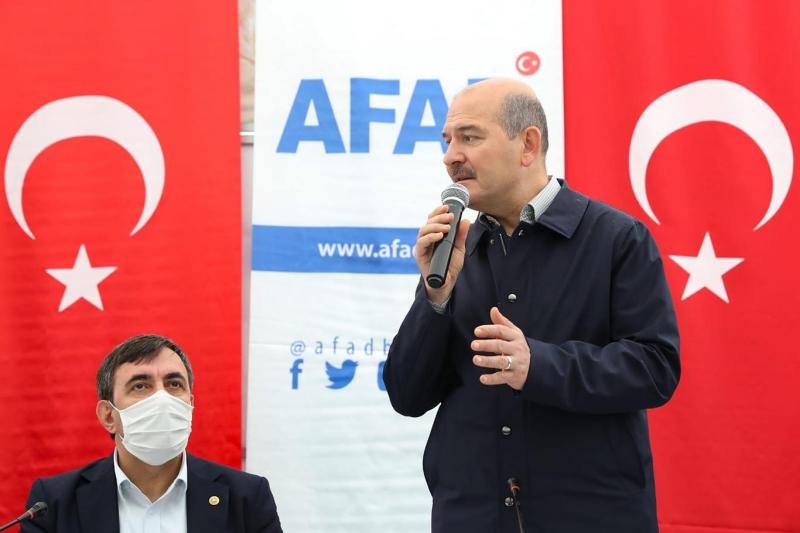 Bakanı Soylu, Bingöl Depreminin Bilançosunu Açıkladı