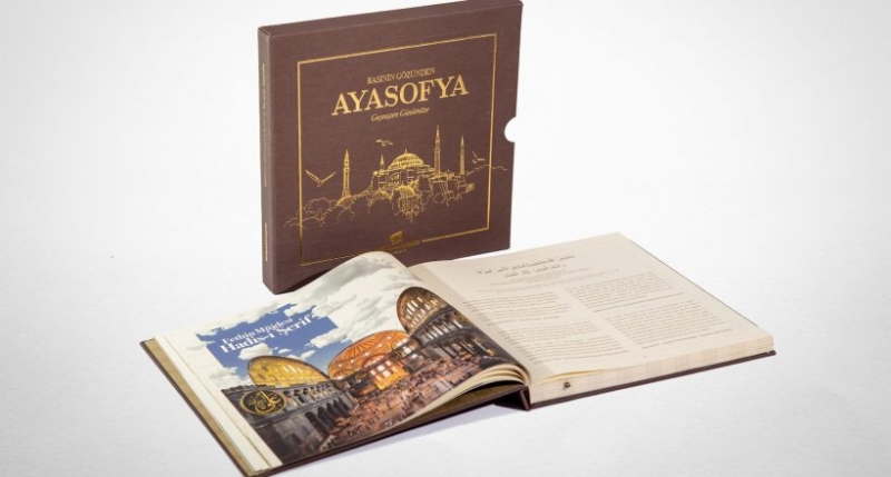 'Basının Gözünden Ayasofya' Kitabı Çıktı
