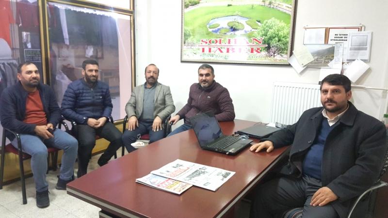 Başkan İslamoğlu'ndan Gazetemize Ziyaret