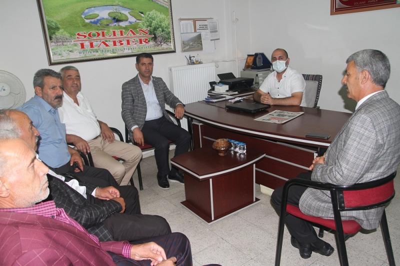 Başkan Kızılboğa'dan Gazetemize Ziyaret