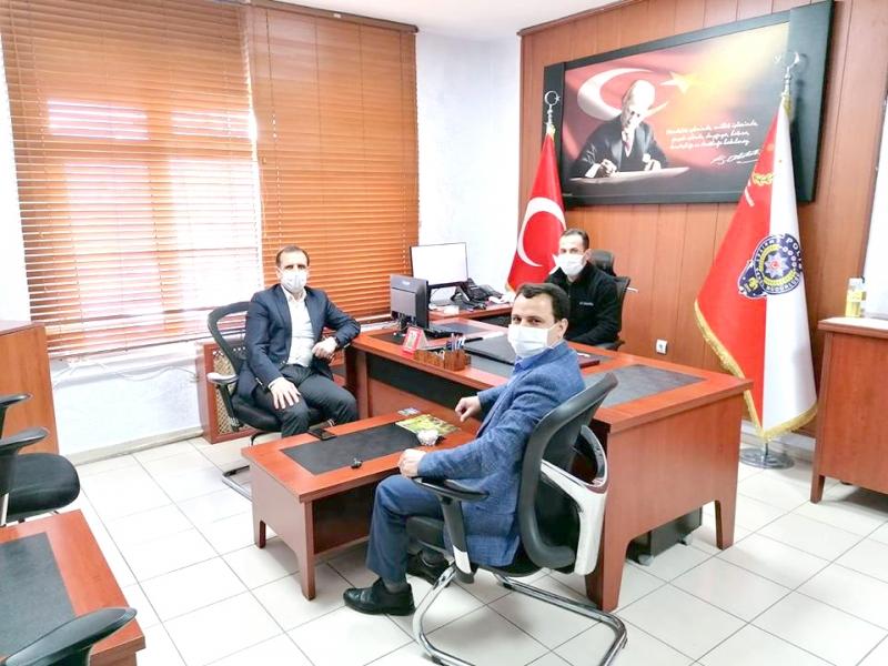 Başkan Yıldız'dan Polis Haftası Ziyareti
