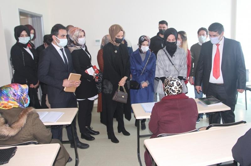 """Bayan Kasapoğlu, """"Talepleri Bizzat İleteceğim"""""""