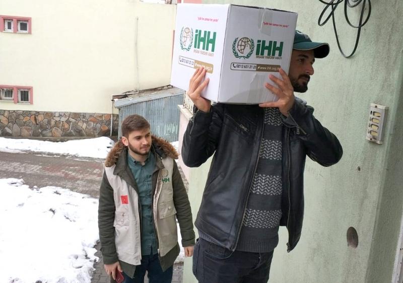 Bingöl İHH, 300 Aileye Yardımda Bulundu