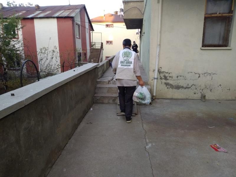 Bingöl Umut Kervanı, 2 ayda 422 aileye umut oldu