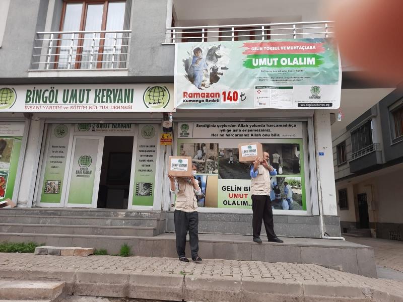 Bingöl Umut Kervanı, 'Ramazan Umut Olsun'
