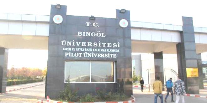 Bingöl Üniversitesi'nde 7 Yeni Bölüm Daha Açıldı