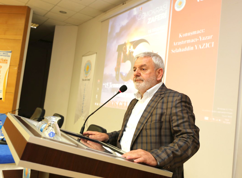 Bingöl Üniversitesinde 15 Temmuz Konferansı
