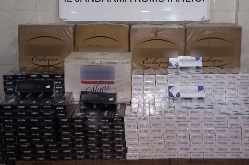 Bingöl'de 35 bin TL değerinde kaçak sigara ele geçirildi