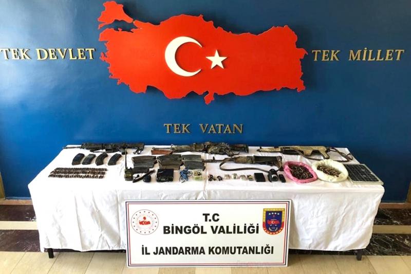 Bingöl'de 8 PKK'lı Öldürüldü