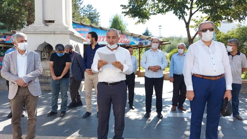 Bingöl'de imam hatiplilere hakaret eden Mütercimler hakkında suç duyurusu yapıldı