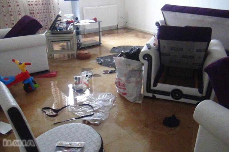 Bingöl'de Onlarca Ev, Su Altında Kaldı