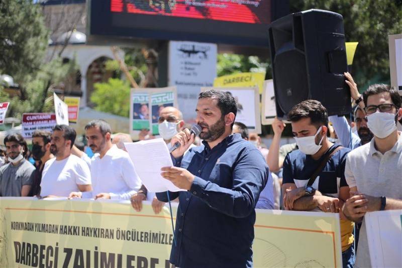 Bingöl'de Sisi Cuntası Protesto Edildi