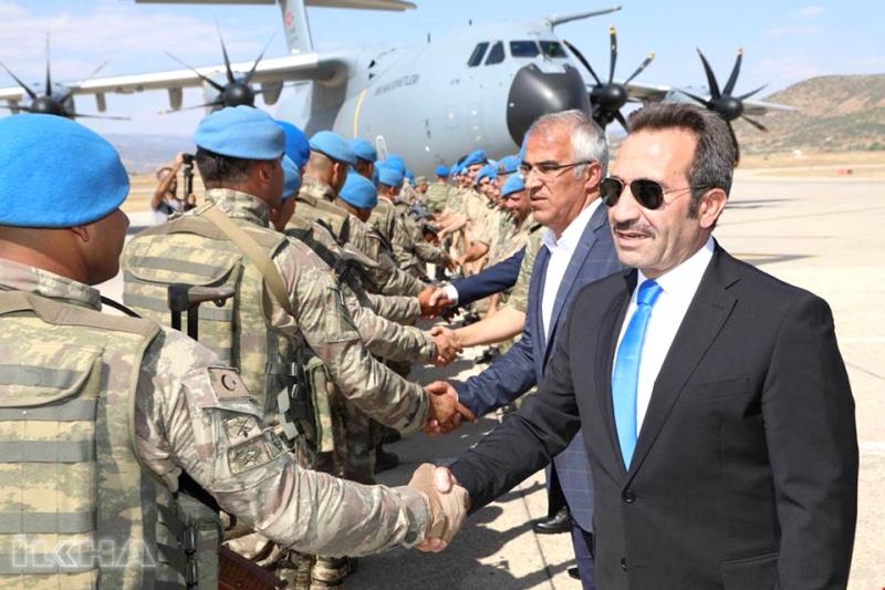 Bingöl'den Suriye'ye Asker Gönderildi