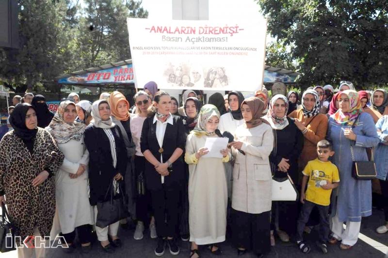 Bingöllü Kadınlardan Diyarbakır'daki Annelere Destek