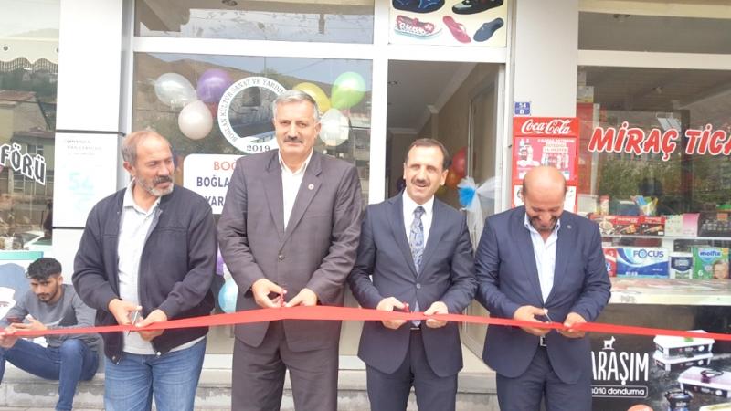 Boğlan-Der'in Büro Açılışı Yapıldı