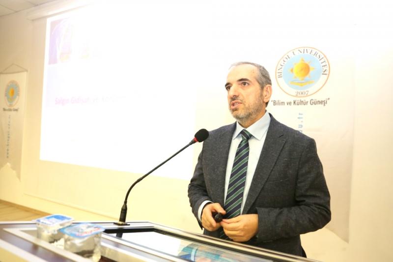 Buzgan, Bingöl Üniversitesi'nde Koronavirüs'ü Anlattı