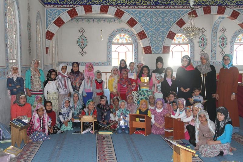Camiler Çocuklarla Şenlendi
