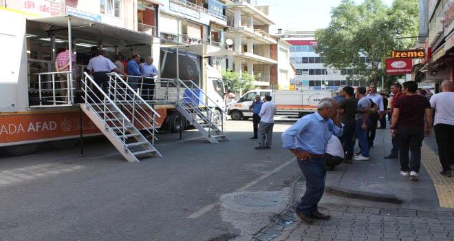 Deprem Tırı, Hizmet Vermeye Başladı