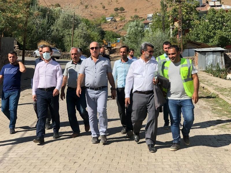 DSİ Bölge Müdürü Dündar, Solhan'a Geldi