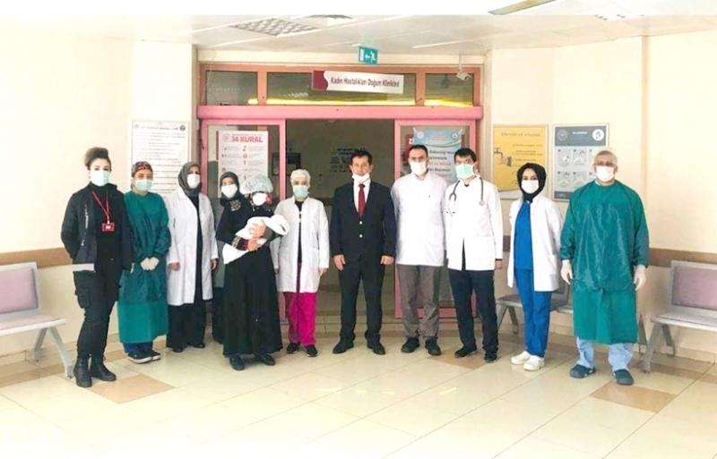 Dünya'nın En Küçük Covid-19 Hastası Taburcu Oldu
