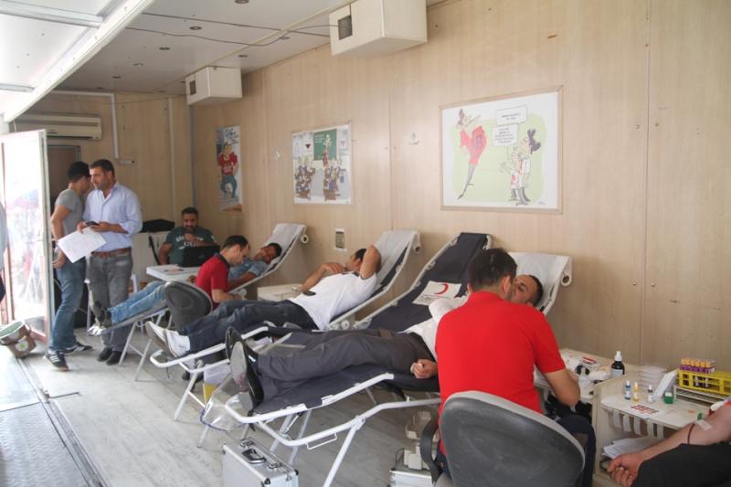 Duyarlı Vatandaşlar, Kan Bağışı Yaptı