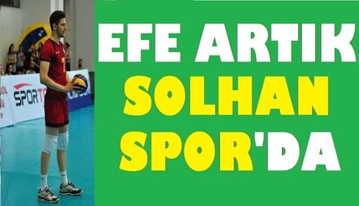 Efe Artık Solhan Spor'da