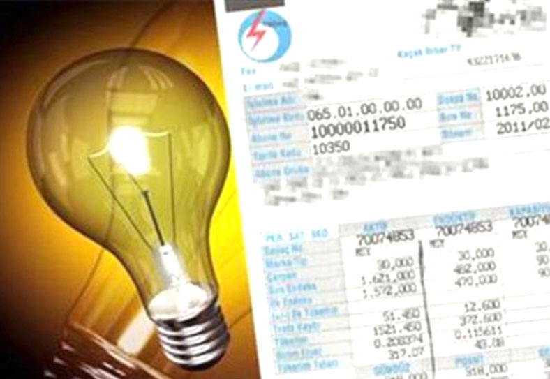 Elektrik Fiyatlarına Zam Geldi