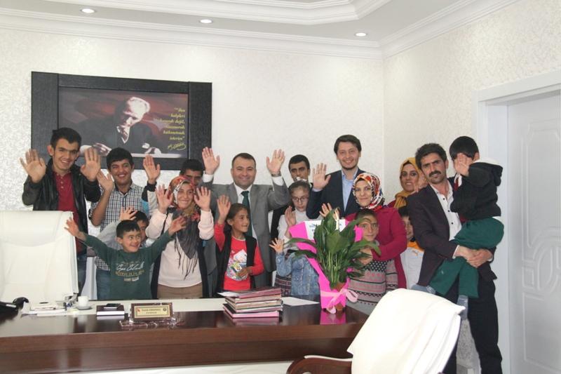 Engelli Öğrencilerden Okumuş'a Ziyaret