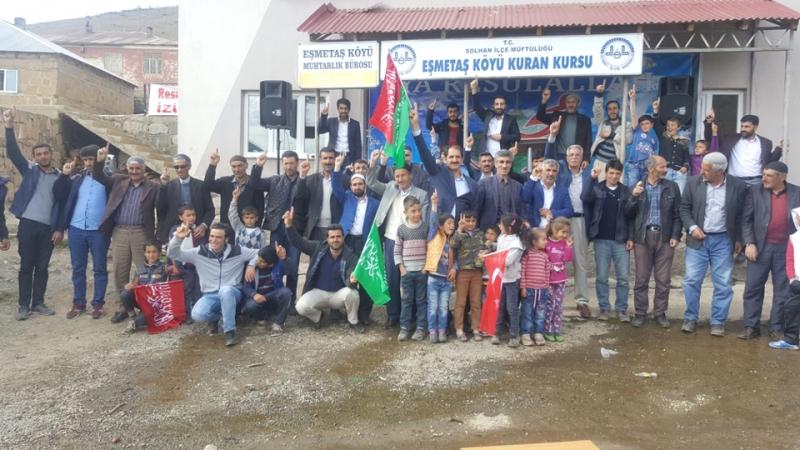 Eşmetaş'ta Kutlu Doğum Etkinliği