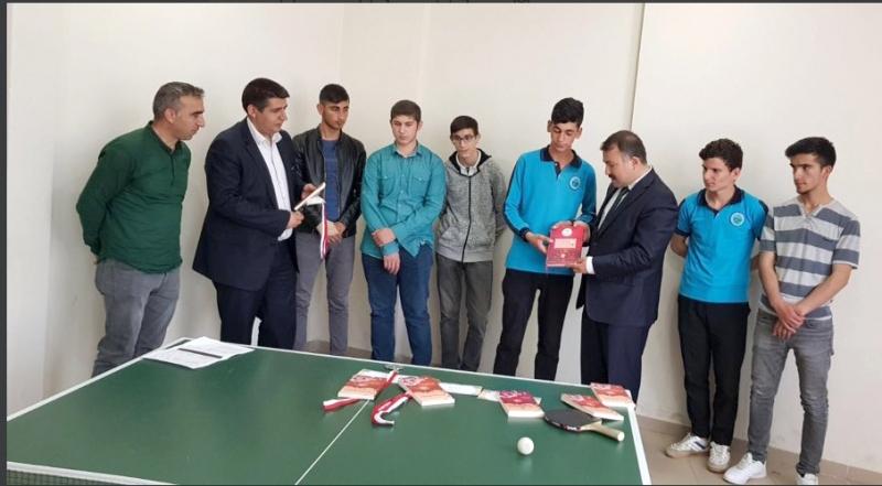 Genç Erkekler Masa Tenisi Turnuvası Sonuçlandı
