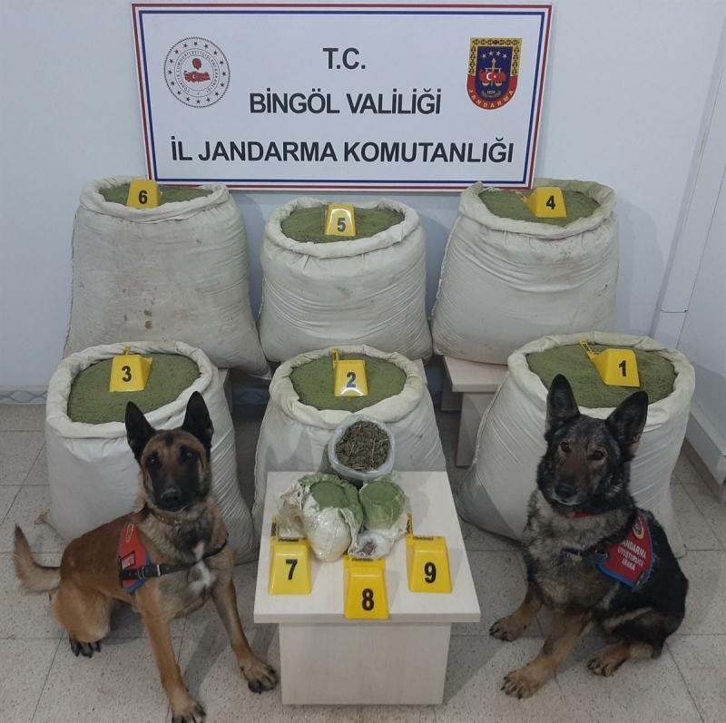 Genç Kırsalında 218 Kg Uyuşturucu Yakalandı