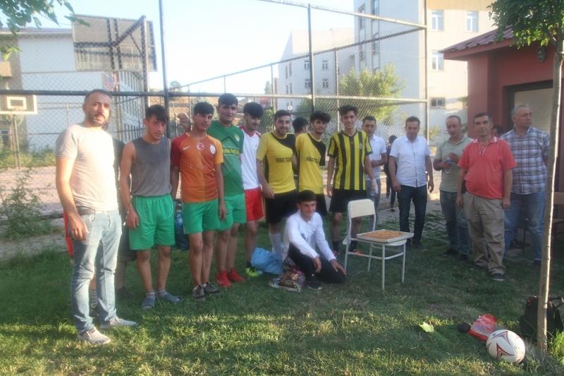 Gençlik Çalıştayı Kapsamında Futbol Turnuvası