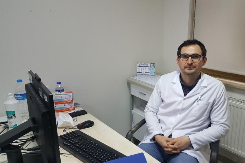 Genel Cerrah Uzmanı Op.Dr. Sangar, Göreve Başladı