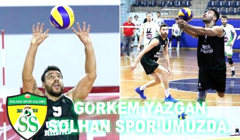 Görkem Yazgan Solhan Spor'da