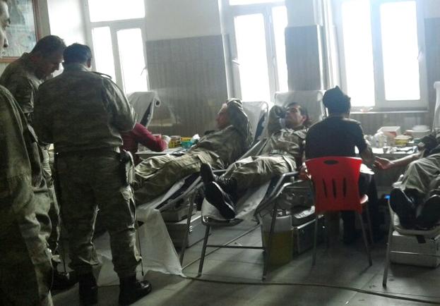 Güvenlik Güçlerinden Kızılay´a Kan Bağışı