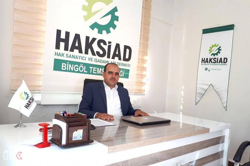 HAKSİAD Bingöl'de Temsilcilik Açtı